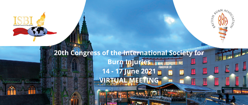20th Congress of the International Society for Burn Injuries – Virtual edition