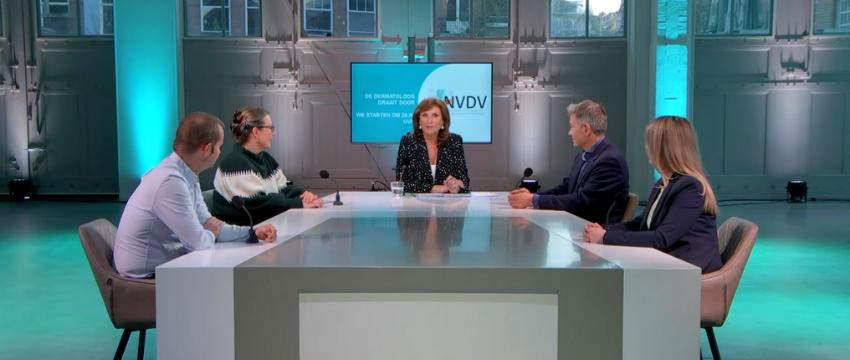 NVDV Webinar: De Dermatoloog Draait Door