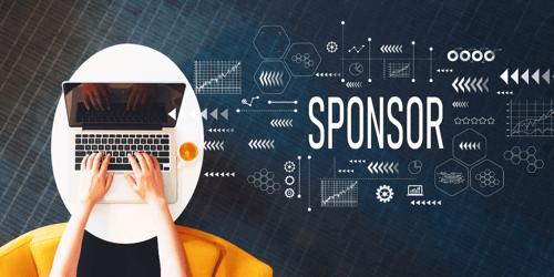 Hoe verbind ik sponsoren aan mijn online bijeenkomst?