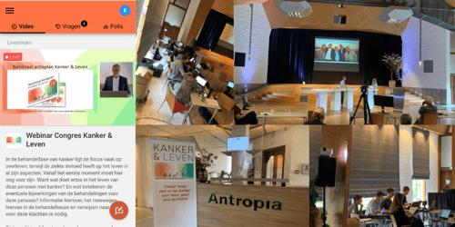 Online congres 'Kanker en Leven